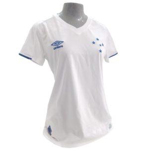 2e530faf61 Camisa Cruzeiro 2019 II S N Umbro Classic Feminina – Branca