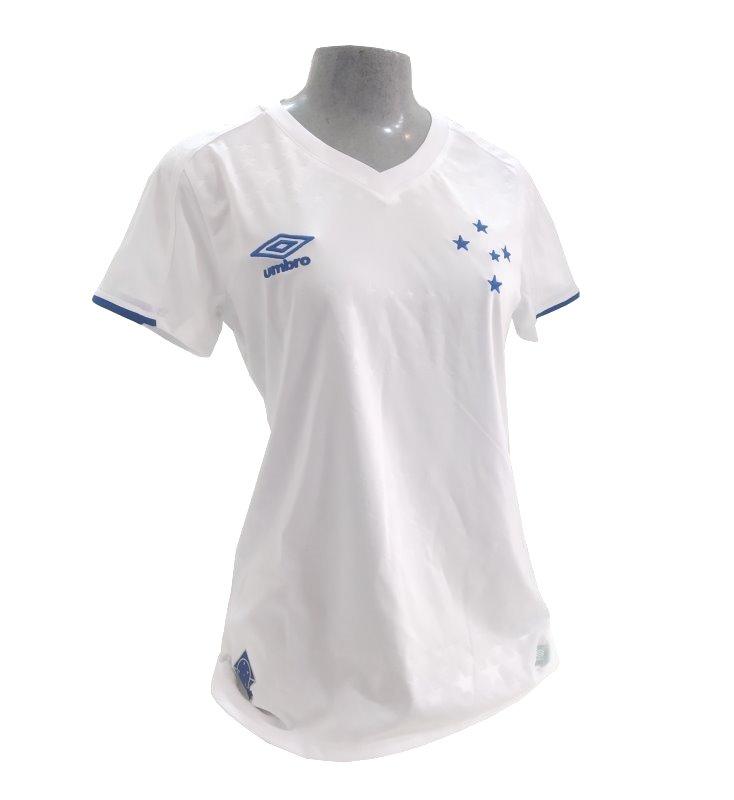 Camisa Cruzeiro 2019 II S N Umbro Classic Feminina - Branca - Camarote do  Torcedor 58322d40ff8c1