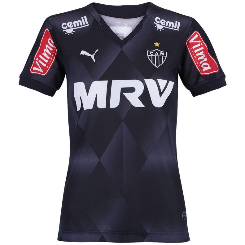 06dd2c70ea1d6 Camisa Feminina Atlético 2015 nº9 III - Puma Oficial - Camarote do ...