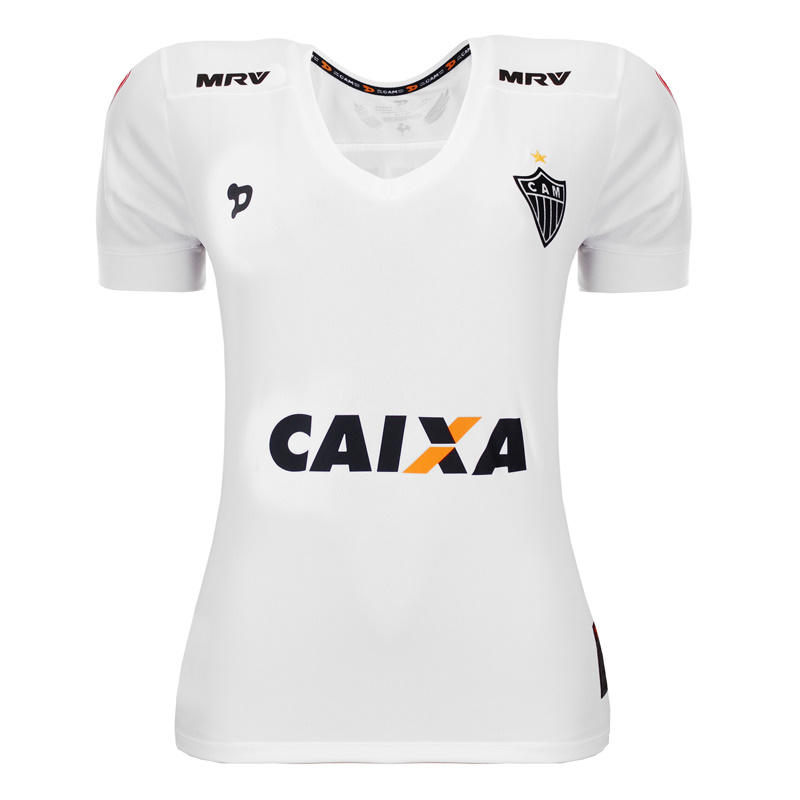 ... FemininasCamisa Feminina Atlético Mineiro II 2016 nº 10 – Dryworld  oficial. 🔍. Atlético Mineiro ... 2dc3742f79cae