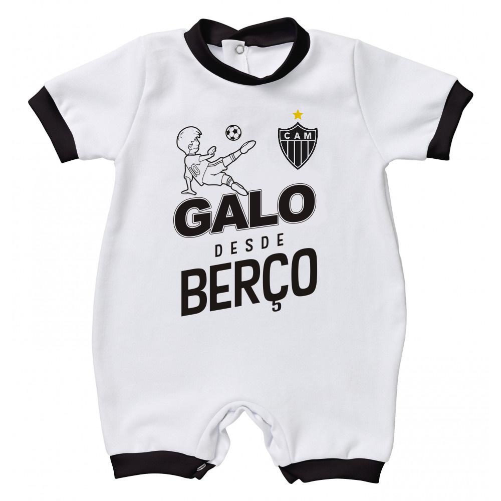 Macacão Torcida Baby Galo desde Berço - Atlético - Camarote do Torcedor 0242f4ce021fd