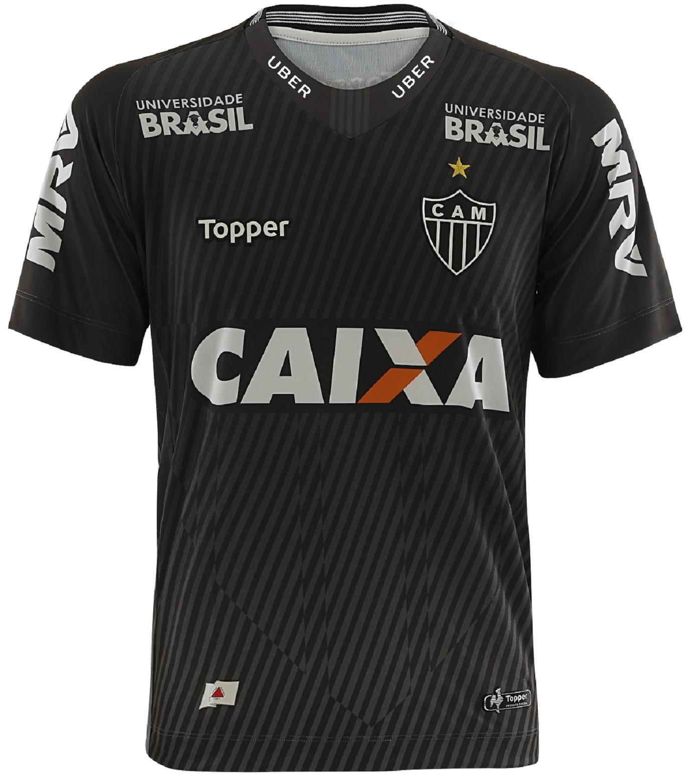 82621b7180 Camisa Atlético Mineiro 2018 - Goleiro I s n Topper Masculina ...