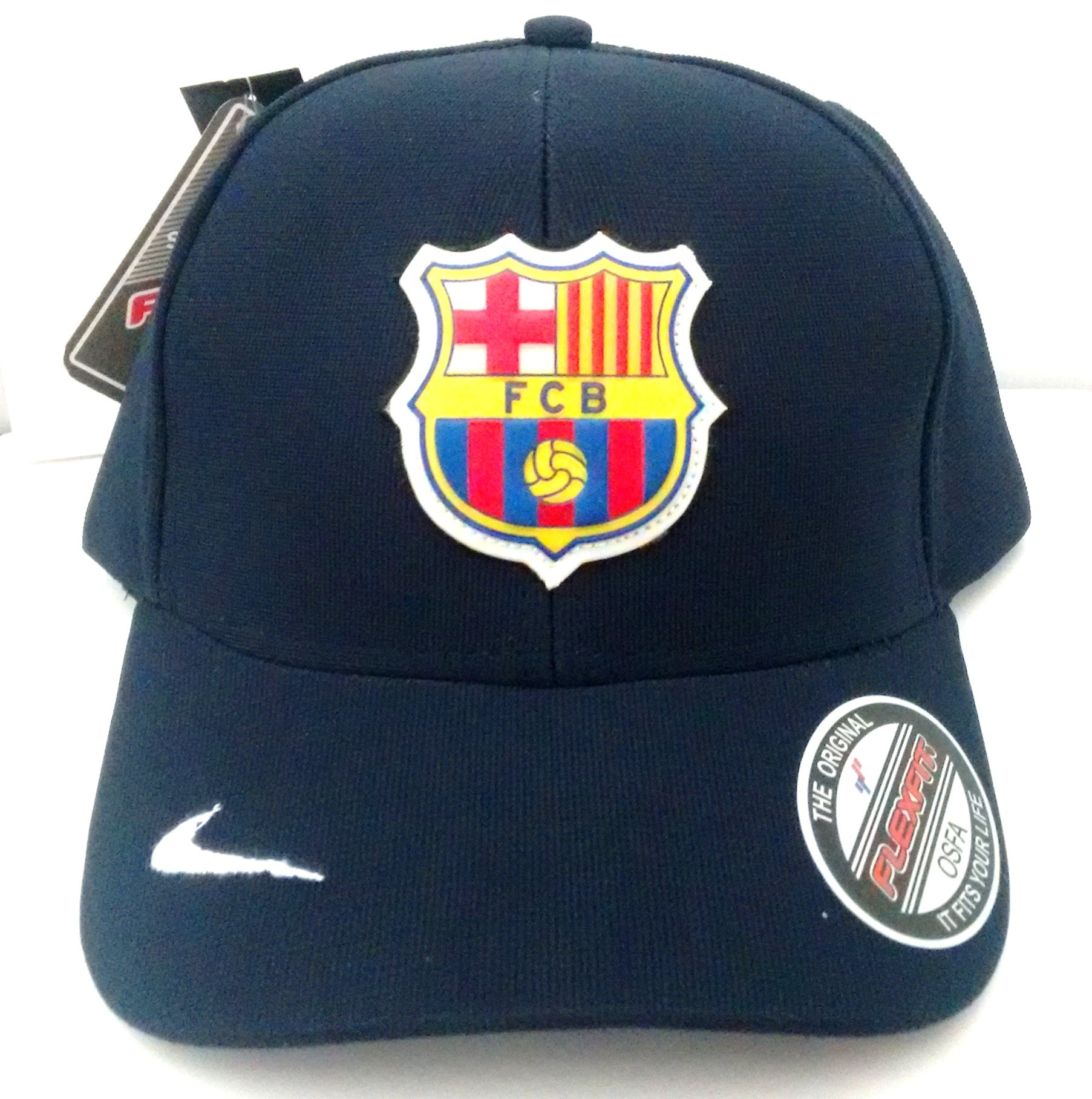 Boné do Barcelona aba curva - Camarote do Torcedor a0921ec1fa6