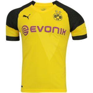 Camisa Puma Borussia Dortmund Away 18 19 s n° – Torcedor Masculina Amarela 1d10e414f634f