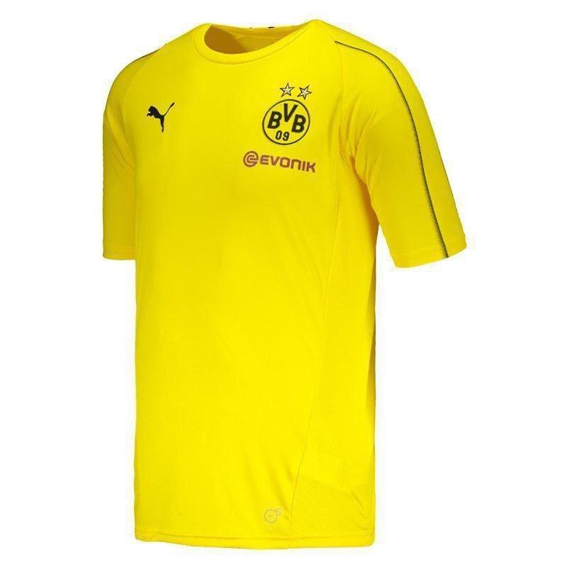 Camisa Puma Borussia Dortmund Treino 2019 - Camarote do Torcedor ece5452f4f0d6