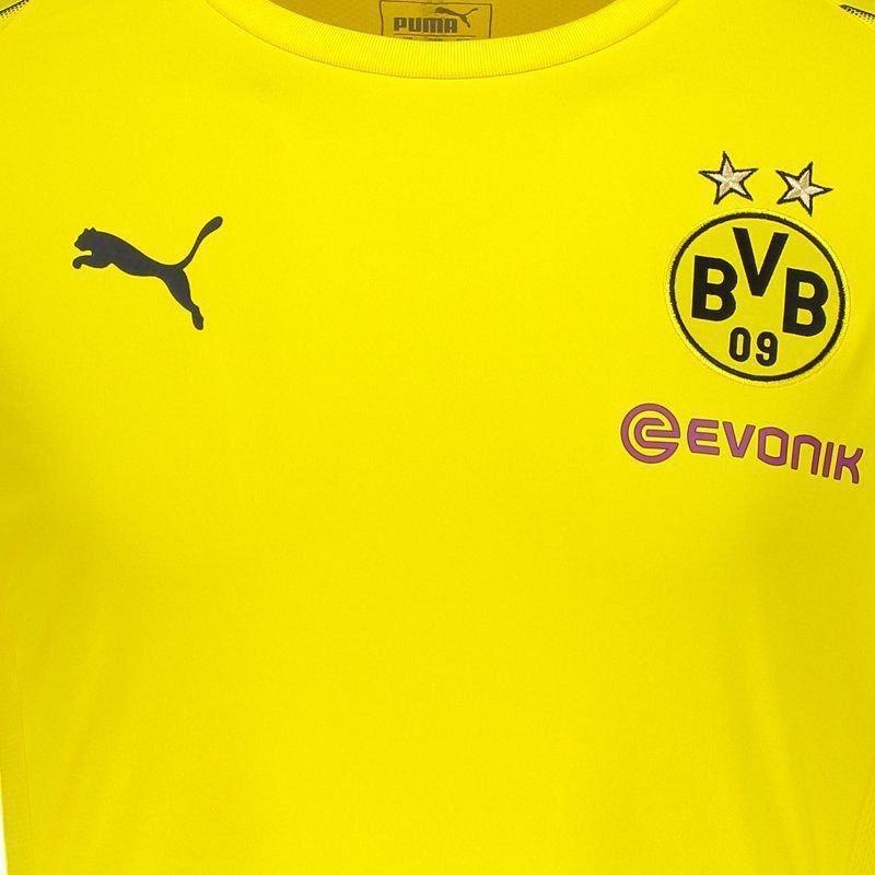 Camisa Puma Borussia Dortmund Treino 2019 - Camarote do Torcedor 56d4b339ae1