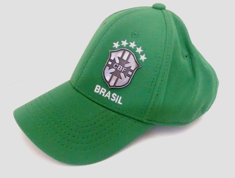 Boné CBF oficial do Brasil Verde - Camarote do Torcedor 9f9926417c53f