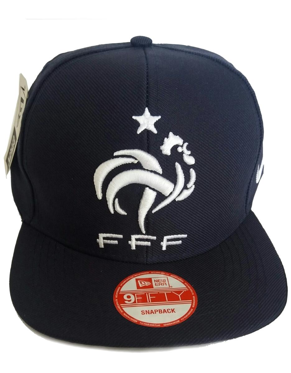 Boné da França New Era aba reta - Camarote do Torcedor 954ab3e5904
