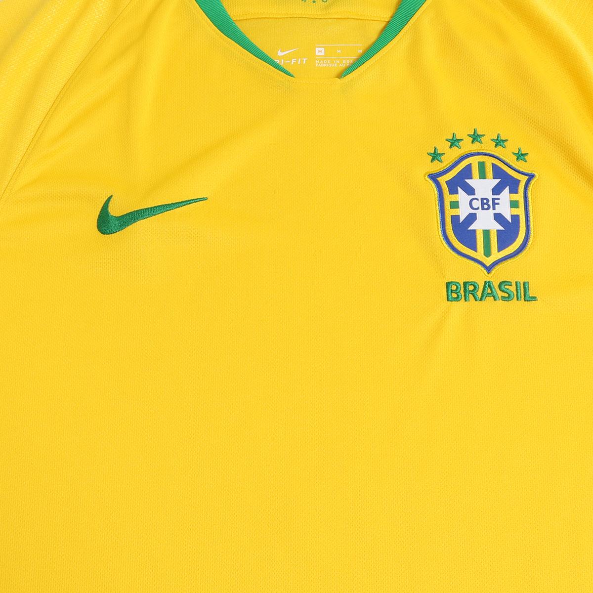 ... MasculinasCamisa do Brasil I 2018 s n° – Seleção Brasileira – Torcedor  Nike. 🔍. 1  2 dcc40c6e01289