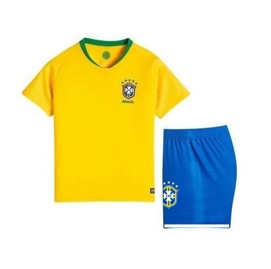 6c738fb8a3 ... InfantilConjunto Uniforme Infantil Brasil 2018. 🔍. Brasil ...