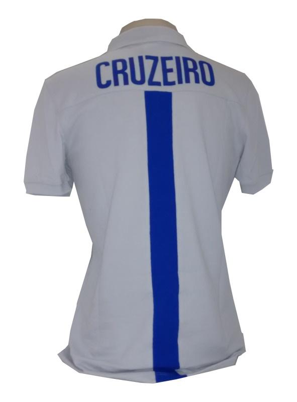 Camisa Cruzeiro 2016 Viagem - Cinza Oficial Umbro - Camarote do Torcedor 5069af3c8bf12
