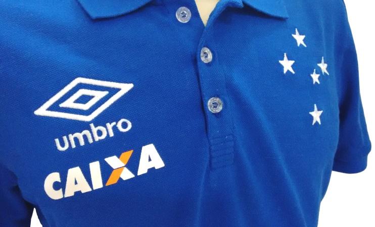 Camisa Cruzeiro 2016 Viagem - Azul Oficial Umbro - Camarote do Torcedor d730657be0680