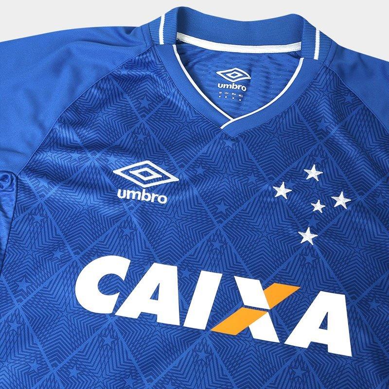 ... MasculinasCamisa Cruzeiro 2017 I S Nº Torcedor Umbro Masculina – Azul e  Branco. 🔍. 1  2 61609310f91b4