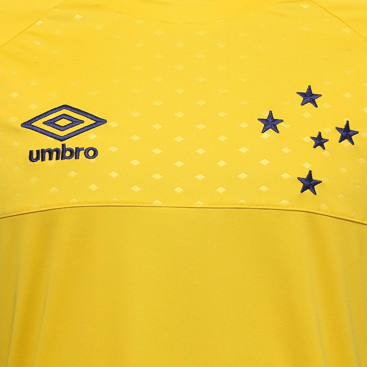 ... Cruzeiro 2018 Goleiro s nº – Torcedor Umbro Masculina – Amarelo e  Marinho. 🔍. Camisas Masculinas ... 9b7853941eb1c