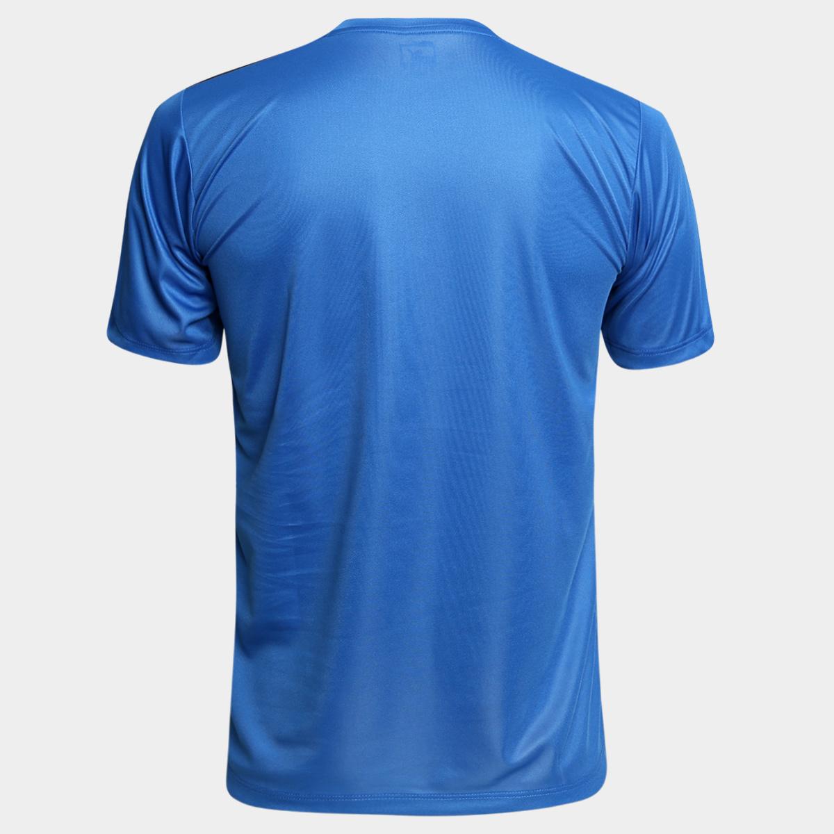 c933441fa InícioLojaFitnessCamisa Puma BR Entry Training Jersey Masculina – Azul e  Preto. 🔍. Fitness
