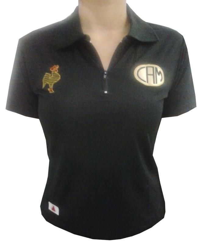 494973e62d Camisa Passeio Atlético - Polo Feminina - Camarote do Torcedor
