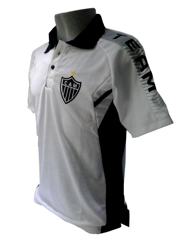 38270e4a4d Camisa Polo Team masculina Atlético - Camarote do Torcedor
