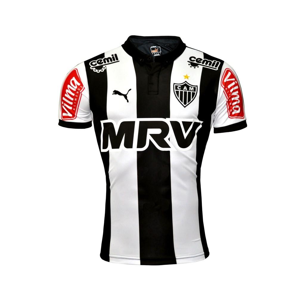 786140e807 Camisa Masculina Atlético 2015 nº10 - Puma Oficial - Camarote do ...