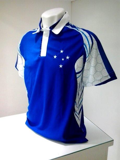 e474a4cc3c Camisa Polo Cruzeiro Baresi Azul - Camarote do Torcedor