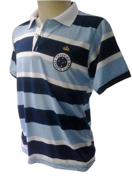 5b96260350 Camisa Passeio Cruzeiro - Polo - Camarote do Torcedor