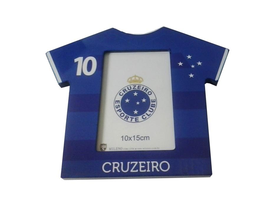 Porta retrato de madeira Cruzeiro - Camarote do Torcedor 552eb03473bc8