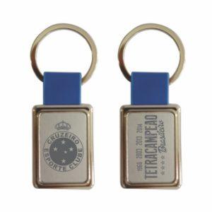Chaveiro Retangular Azul Tetra Brasileiro – Cruzeiro c830a42342226