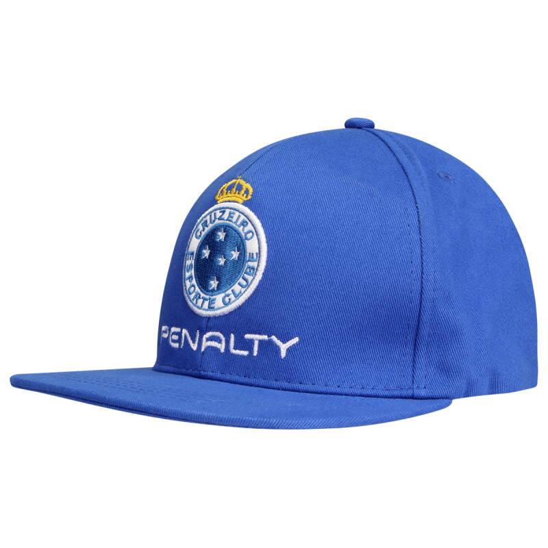 Boné azul do Cruzeiro Penalty Aba reta 2015 - Camarote do Torcedor 43911c351ae2e