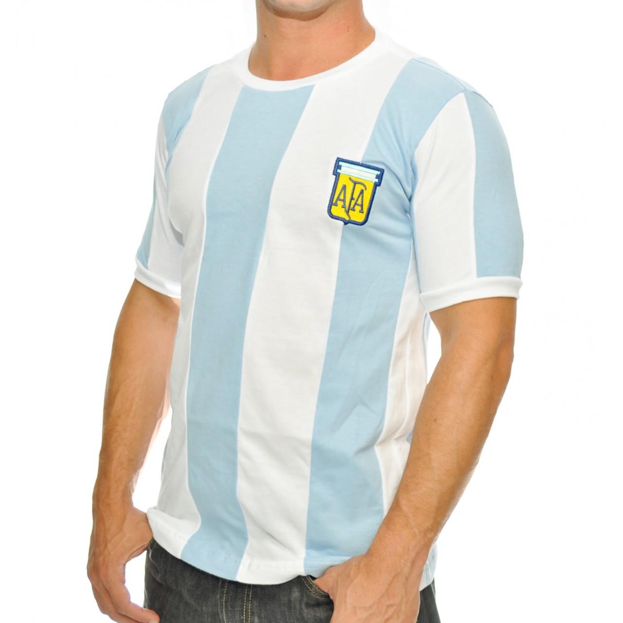 Camisa da Argentina 1978 - Camarote do Torcedor 65dd728f051