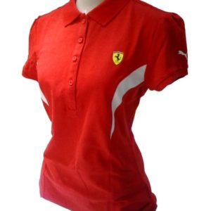 620f631338 Camisa Polo Puma Scuderia Ferrari Vermelha – Feminina