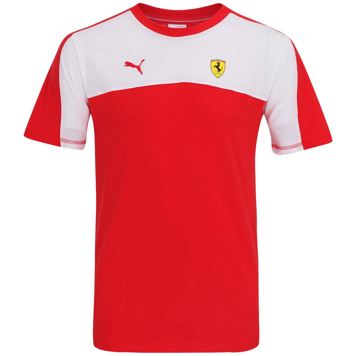 9659c61e9a Camisa Puma Scuderia Ferrari - Masculina - Camarote do Torcedor