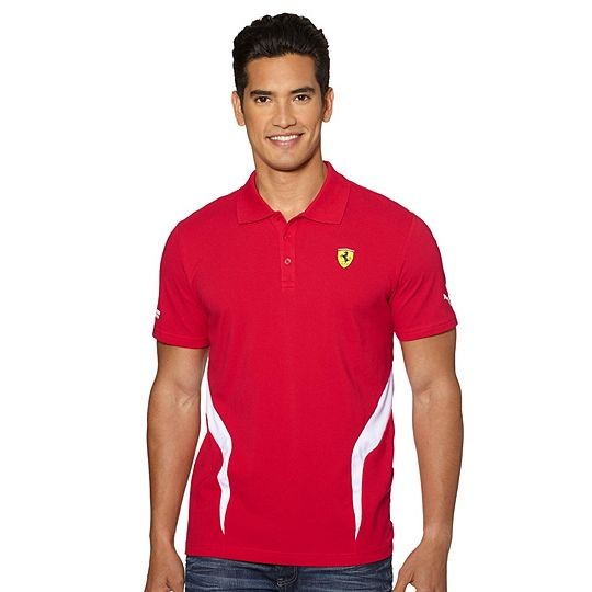 InícioLojaFerrariCamisa Polo Puma Scuderia Ferrari Vermelha. 🔍. Ferrari b146abf2aa6