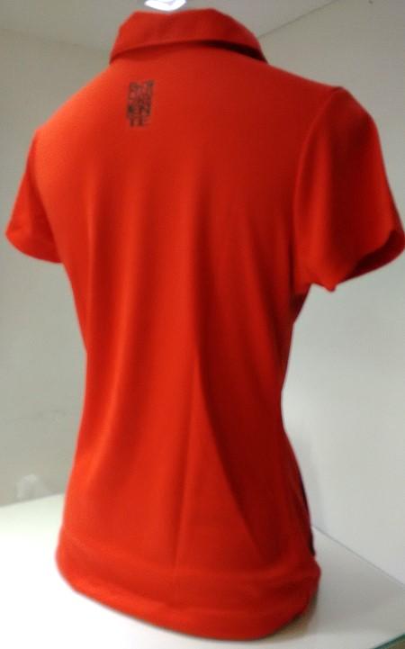 b3cb8cab8d8e5 Camisa passeio polo feminina vermelha Flamengo - Camarote do Torcedor