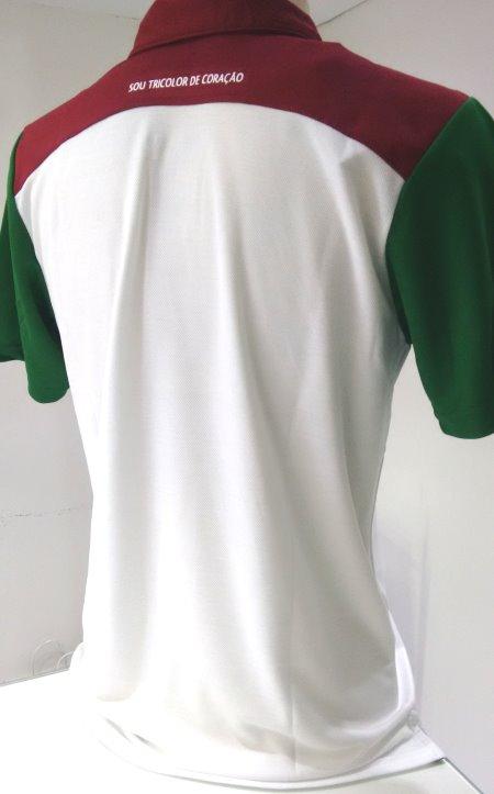 0618bab671 Camisa passeio polo masculina Fluminense - Camarote do Torcedor